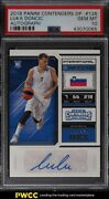 2018 Panini Contenders Draft Luka Doncic Rookie Rc Auto 126 Psa 10 Gem Mint