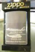 New 2003 Rare Vintage White House Airlift Operations Zippo Lighter Excellent
