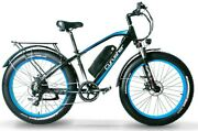 26 Electric Mountain Bicycles Fat Tires E-bike 1000w 48v 13ah Motorcycle Style