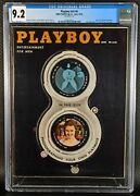 High Cgc 9.2 Graded Playboy Magazine V5 6 June 1958 White Pages