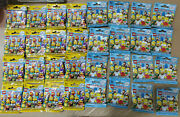 Lego Simpsons Minifigures Series 1 71005 And 2 71009 Free 5 Days Shipping