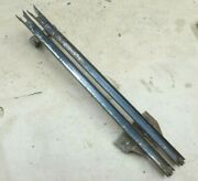 1961 1966 Ford Truck Door Window Rear Glass Channels Guides Original Pair