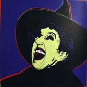 Andy Warhol -andldquothe Witchandrdquo- Diamond Dust-from Myths Suite-1981 -silkscreen Proof