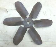 1937 1955 Chevy Truck Fan Blade Assembly Original Gm Extra Cooling 6 Blade 18