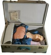 Laedral Resusci Andy Skillmeter Full Body First Aid Cpr Training Manikin Rare