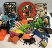 Vintage Toys Mixed Lot Gumball Toys Clacker Gyroscope Timmee Soldier Figurines