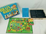 Brain Quest Board Game Preschool And Kindergarten Ages 3-6 2-4 Players Complete