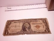 🇺🇸 United States 1 Dollar 1935 A Hawaii Wwii Banknote Pearl Harbor 041721-2