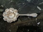 Reed And Barton Tea Strainer Francis I Sterling Silver Flatware No Mono