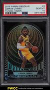 2019 Panini Obsidian Tunnel Vision Lebron James /99 6 Psa 10 Gem Mint