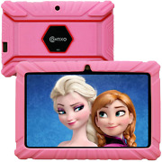 Contixo 7 Inch Kids Tablet 2gb Ram 32gb Wifi Android 10.0 Tablet For Kids Blueto