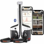 Maxpro Fitness Portable Cable Smart Home Gym | Versatile Machine W/bluetooth
