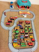 Thomas And Friends Train Station Depot Tidmouth Shed Lot Track Diecast Trains 🔥