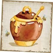 Pdxbnt1568large Honey Pot Paul Brent Poster Print 24 X 24 Multicolor