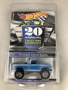 Collectors Convention 20th Annual 2020 Hot Wheels Andrsquo70 Dodge Power Wagon