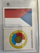 Panini Mexico 70 Czechoslovakia - Flag And Shield Emblem - Excellent Condition