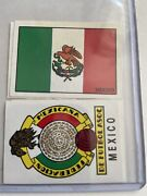 Panini Mexico 70 Mexico - Flag And Shield Emblem - Excellent Condition