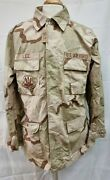 Genuine Us Army Issue Desert Tri-colour Combat Shirt Size Large/x-long 2