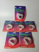 Lot Of 6 1996 Vintage Dymo Labeling Tape 3/8 X 12and039 New