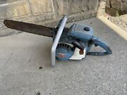Vintage Homelite Xl-12 Chainsaw Chain Saw With Bar/chain - Parts Saw