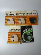 Lot Of 5 Vintage Dymo Labeling Tape New