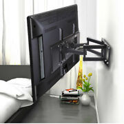 Tv Wall Bracket Heavy Duty Extend Double Arms For 32 40 42 43 46 47 50 55 60 65