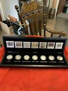 Group Of Seven Canada 20 Proof Silver Coin Set In Case 2012-2013