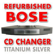Bose 3 Disc Multi-cd Changer For Wave Radio/cd Player Music System - Silver