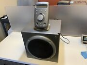 Logitech Z-680 Computer Speakers With Subwoofer And Remote Control Pad /log-145