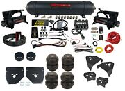 Complete Air Ride Suspension Kit Level Ride W/3 Preset Fits 1973-87 Chevy C10