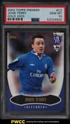 2002 Topps Premier Gold And03903 John Terry Rookie Card C2 Psa 10 Gem Mint