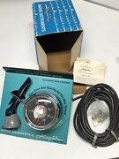Vintage Nos 1020 Airguide Boat 35 Mph Speedometer Gauge And Free-flo Pitot