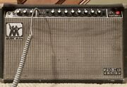 1970andrsquos Music Man Fender Tube Amp Mdl.210-hd W/2 10andrdquospeakers2chreverbtremelo