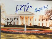 Walter Mondale Signed 8-10 Photo Vice Presidents Gerald Ford Fab