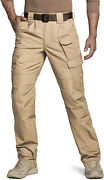 Cqr Menand039s Tactical Pants Water Repellent Ripstop Cargo Pants Hiking Work Pants