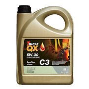 Car Engine Oil Triple Qx Synplus Sae 5w30 C3 Fully Synthetic Low Saps 5l 5 Ltr