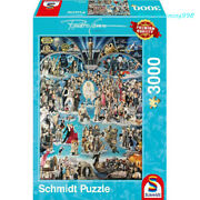 Schmidt 59347 Star Collection Hollywood 3000 Adult Decompression Puzzles Toys