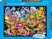Heye Psychological Graffiti 2000piece Adult Decompression Puzzles Toys Gift New