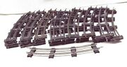 American Flyer 24 And039and039twenty-fourand039and039 Cleaned 702 Curve Track .. Ready To Lay