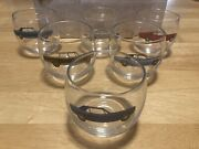 1968 Ford Promo Glasses Mustang Torino Galaxie Thunderbird Country Squire