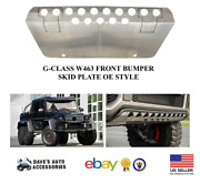 Aftermarket W463 G-class G63 Oe Style Guard Skid Plate For Amg Front Bumper