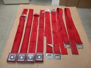 1965 Sears Allstate Red Seat Belts Ford Galaxie Thunderbird Fairlane Falcon
