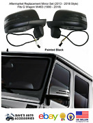 Replacement Facelift Black Side Mirrors Set For Benz G Class G500 G55 G63 W463