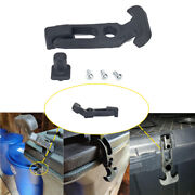 Rubber Flexible T-handle Hasp Draw Latch M5 Fit Rv Tool Box Cooler Golf Cart Car