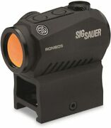 Sig Sauer Romeo5 Sor52001 1x20mm Compact 2 Moa Red Dot Sight High And Low Mount