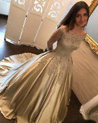 Quinceanera Wedding Dress Ball Gowns Pageant Prom Formal Evening Dresses Custom