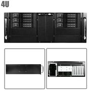 4u Rackmount Server Chassis Case 6x 3.5 Trayless Hot-swap And 4x 5.25 Drive Bays