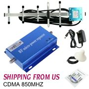 Cdma 850mhz Cell Phone Signal Booster Amplifier Mobile Repeater For Home Signal