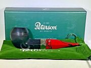 Peterson Dracula Smooth..new In Box/unsmoked..ireland..fish Tail..shape 150