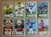 1954 Bowman Football Card Singles Complete Your Set Pick Choose